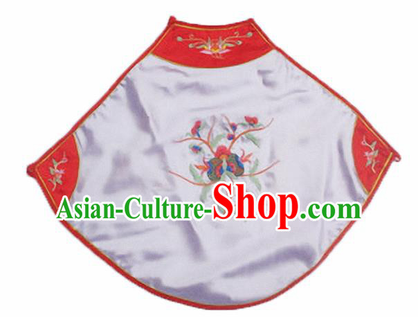 Chinese Traditional Underwear Ancient Costume Embroidered Lilac Bellyband for Women