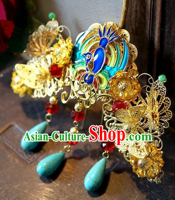 Chinese Handmade Classical Hair Accessories Ancient Hanfu Hairpins Hair Stick for Women