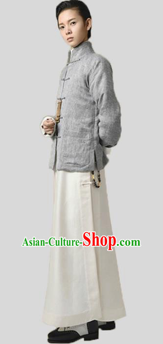 China Ancient Republic of China Nobility Childe Clothing Long Robe for Men