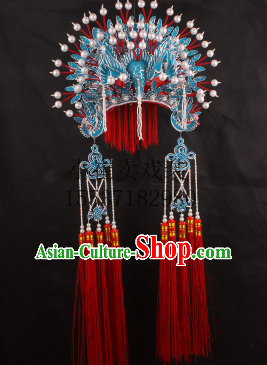 Top Chinese Headdress Phoenix Crown Phoenix Coronet Phoenix Hat for Adults Kids Children Women Girls