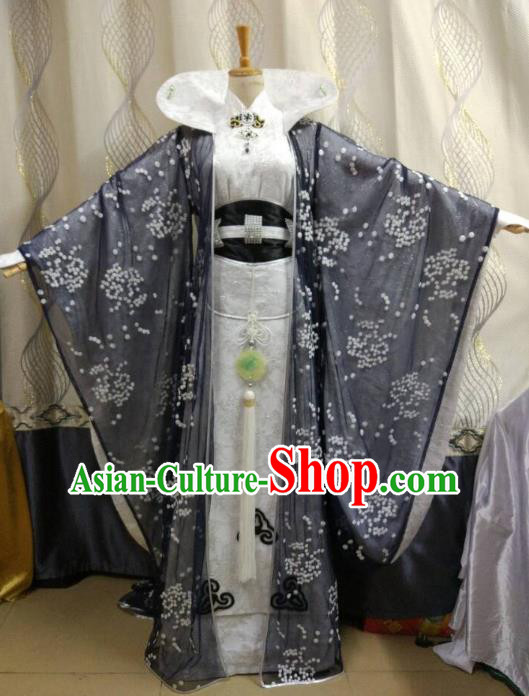 Traditional China Ancient Cosplay Queen Costume Princess Hanfu Dress Clothing for Women