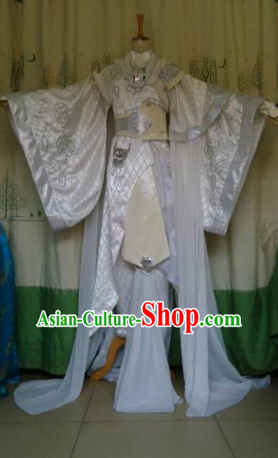 China Ancient Cosplay Fairy Costume Fancy Dress Traditional Halloween Princess Hanfu Clothing for Women
