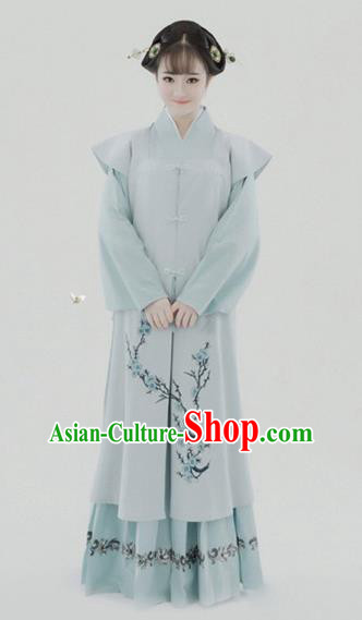 Chinese Traditional Ming Dynasty Princess Clothing, China Ancient Nobility Lady Costume for Women