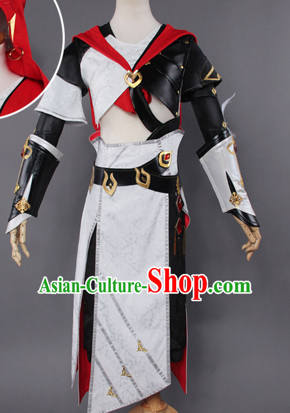 Asian Sexy Future Warrior Anime Costumes Superhero Costume Complete Set