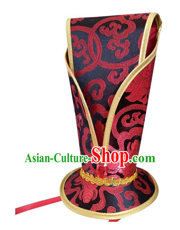 China Ancient Han Dynasty Emperor Hair Accessories Hanfu Hairdo Crown for Men
