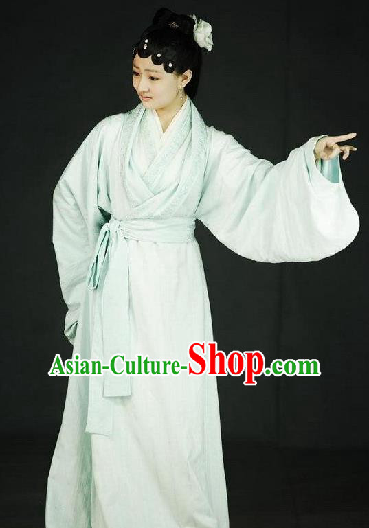 Chinese Ancient A Dream in Red Mansions Character Nobility Lady Xue Baoqin Costume for Women