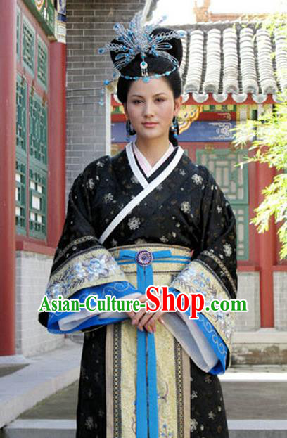 Chinese Ancient Novel Dream of the Red Chamber Young Mistress Wang Xifeng Costume for Women