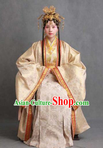 Chinese Ancient Novel Character A Dream in Red Mansions Imperial Consort Jia Yuanchun Costume for Women