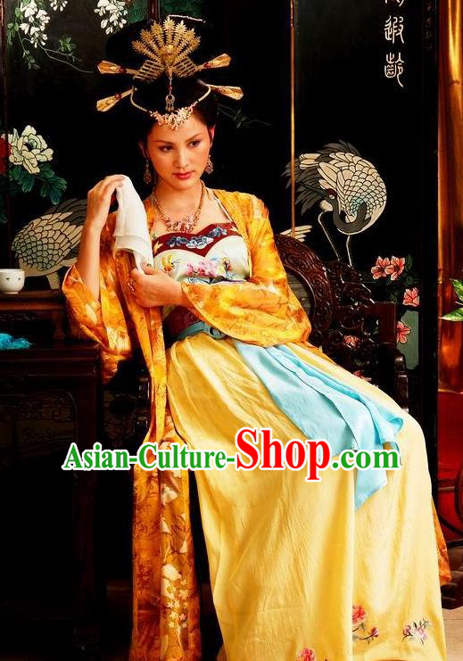 Chinese Ancient Novel A Dream in Red Mansions Character Xifeng Wang Costume for Women