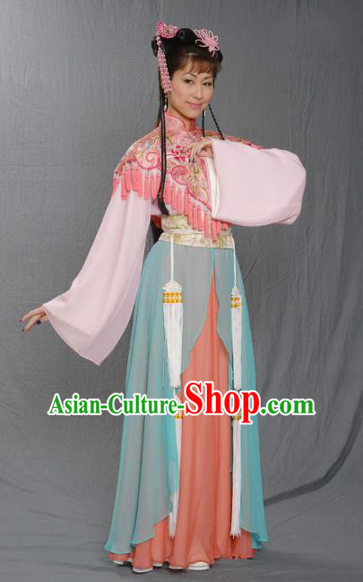 Chinese Ancient Ming Dynasty Princess Embroidered Dress Costume for Women