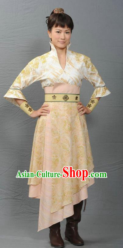 Ancient Chinese Ming Dynasty Swordswoman Dress Female Detective Historical Costume for Women