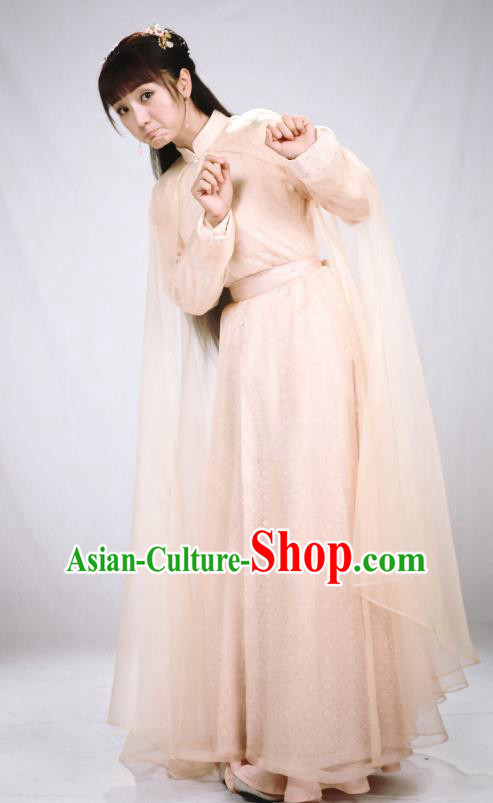 Chinese Ancient Ming Dynasty Palace Princess Dress Historical Costume for Women