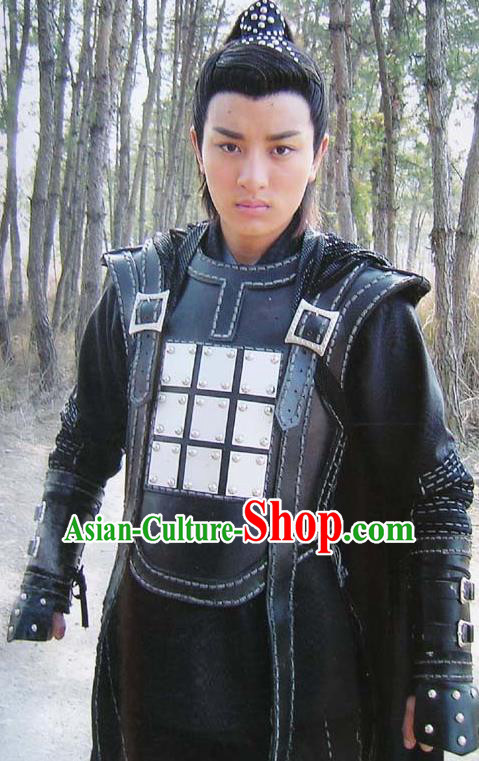 Chinese Ancient Song Dynasty General Yang Yanzhao Replica Costume for Men