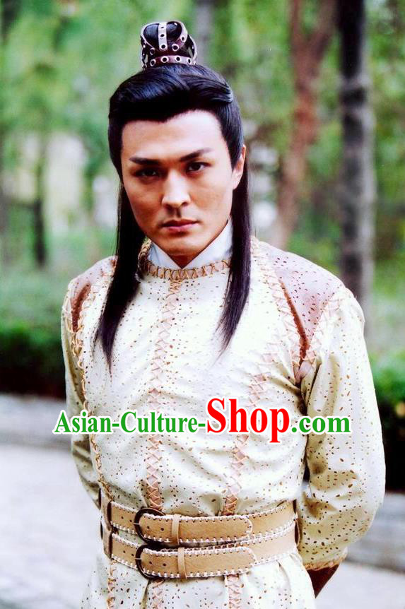 Chinese Ancient Song Dynasty General Yang Xun Replica Costume for Men