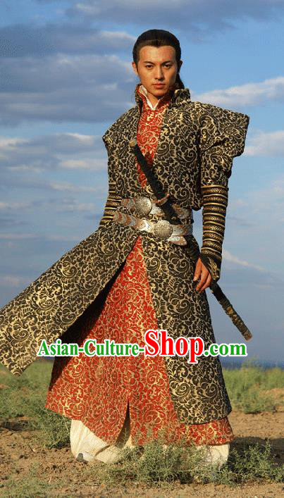 Chinese Ancient Ming Dynasty Swordsman Replica Costume for Men