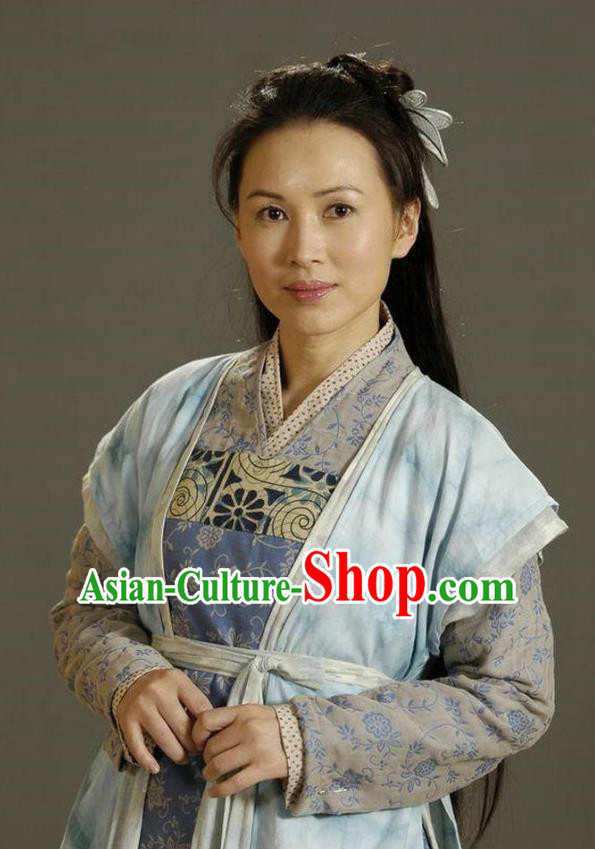 Ancient Chinese Song Dynasty Female General of Yang Family She Saihua Replica Costume for Women