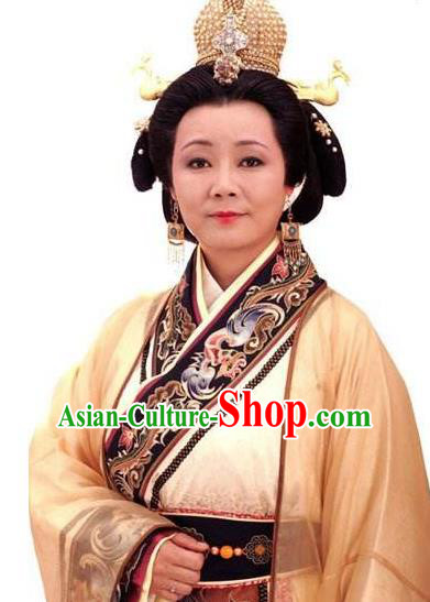 Chinese Ancient Song Dynasty Empress Dowager Replica Costume for Women