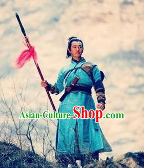 Ancient Chinese Southern Song Dynasty General Yueh Fei Replica Costume for Men