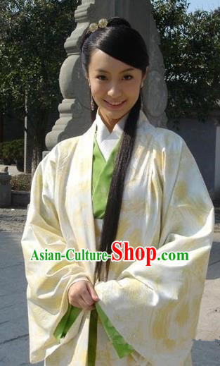 Chinese Traditional Song Dynasty Palace Lady Dress Princess Replica Costume for Women