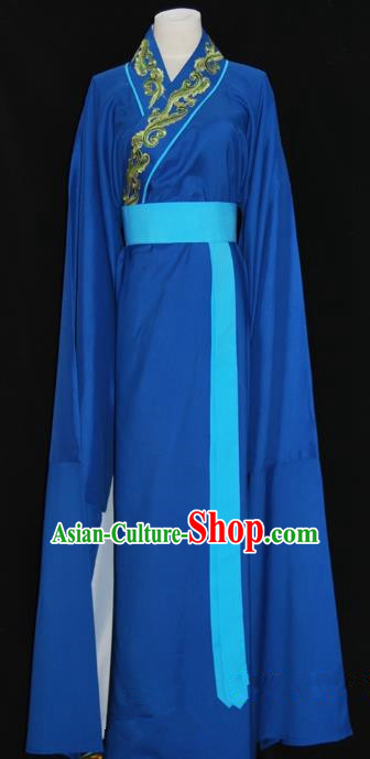 Traditional Chinese Beijing Opera Scholar Robe Costume Peking Opera Young Men Clothing for Adults