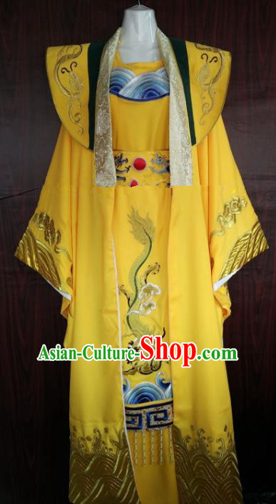 Traditional Chinese Beijing Opera Emperor Imperial Robe Peking Opera Niche Costume for Adults