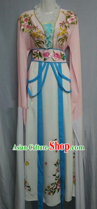 Traditional Chinese Beijing Opera Nobility Lady Costume Professional Peking Opera Diva Pink Dress