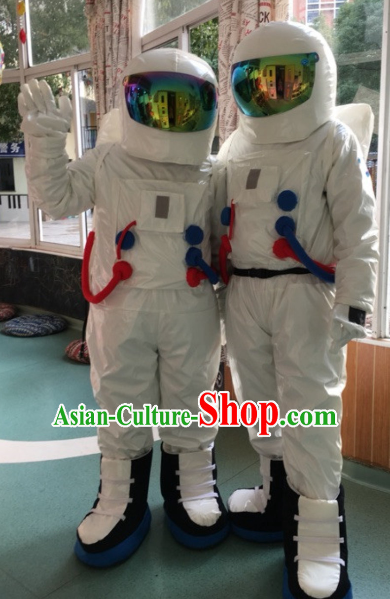 Space and Cosmonauts Theme Costumes Complete Set