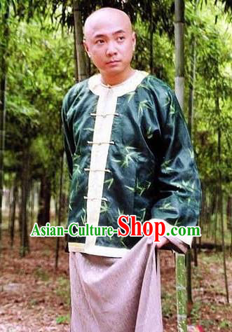 Chinese Traditional Historical Costume China Qing Dynasty Minister Li Wei Clothing