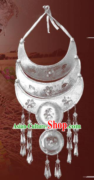 Traditional Chinese Miao Nationality Necklet Hmong Accessories Necklace for Women