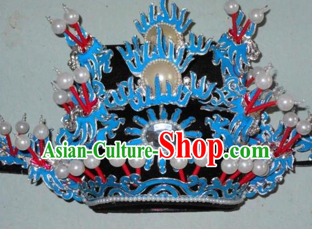 Traditional Chinese Beijing Opera Prime Minister Hair Accessories Peking Opera Chancellor Black Hats Headwear