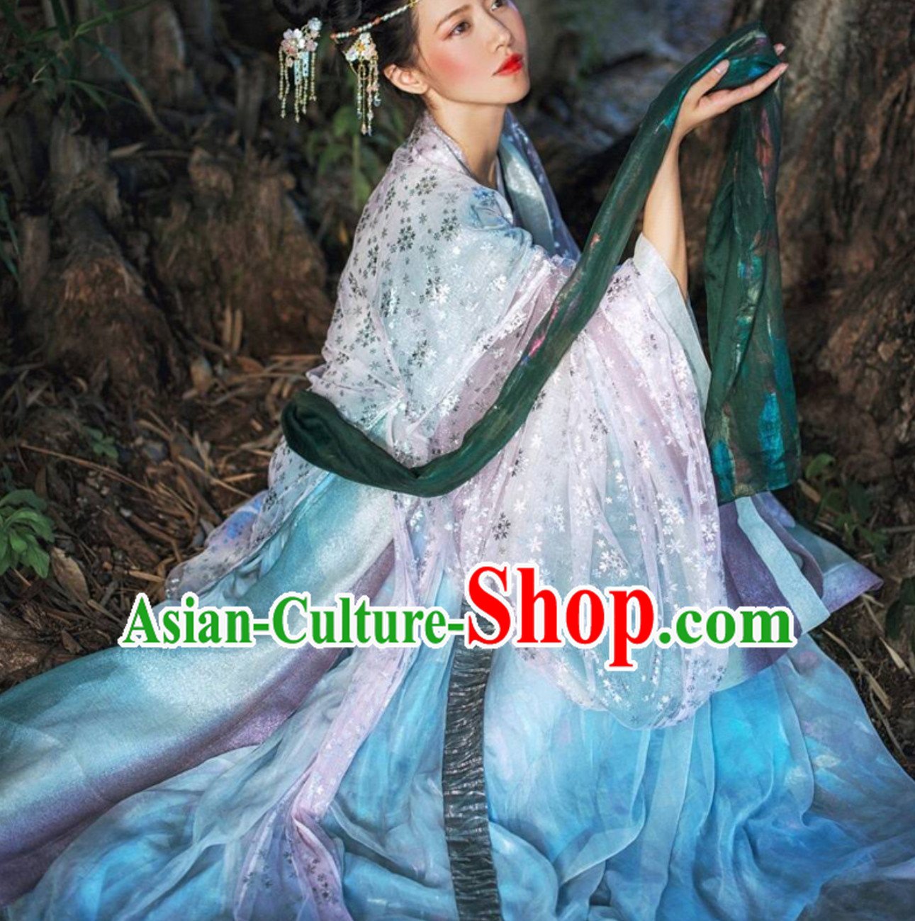 Top Traditional Hanfu Dress Clothing Daxiushan Formal Wear of Royal Chinese Women