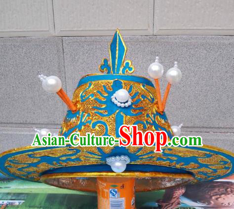 Traditional Chinese Beijing Opera Takefu Hats Peking Opera Warrior Headwear