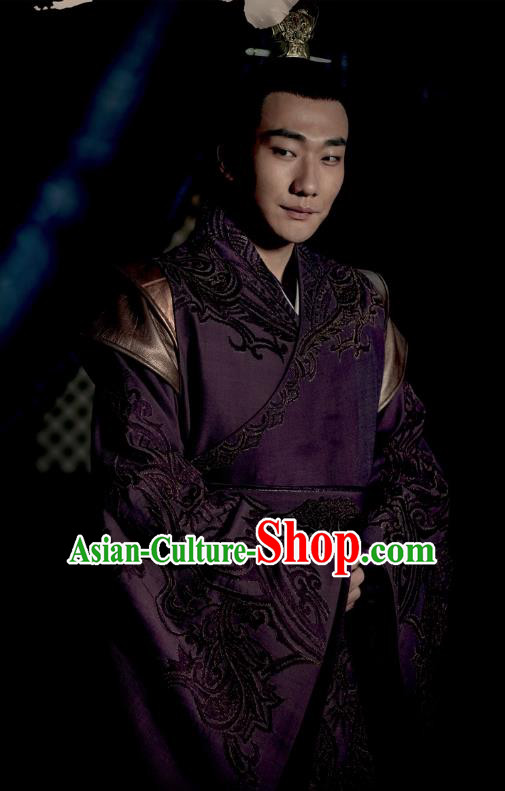 Nirvana in Fire Chinese Ancient Liang State Royal Highness Xiao Yuanqi Replica Costume for Men