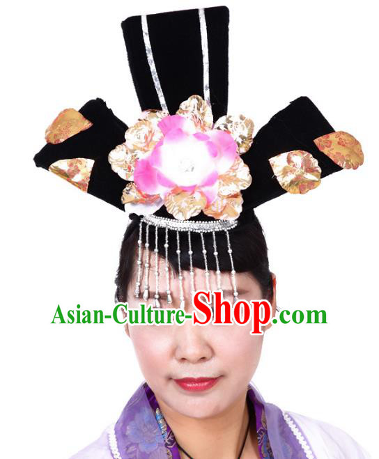 Chinese Traditional Classical Dance Hair Accessories Peking Opera Actress Headwear for Women