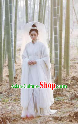 Drama Untouchable Lovers Chinese Ancient Princess Consort Replica Costume for Women