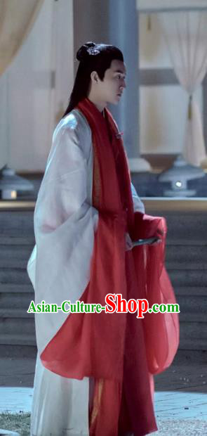 Chinese Ancient Musician Hanfu Drama Untouchable Lovers Southern and Northern Dynasties Nobility Childe Replica Costume for Men