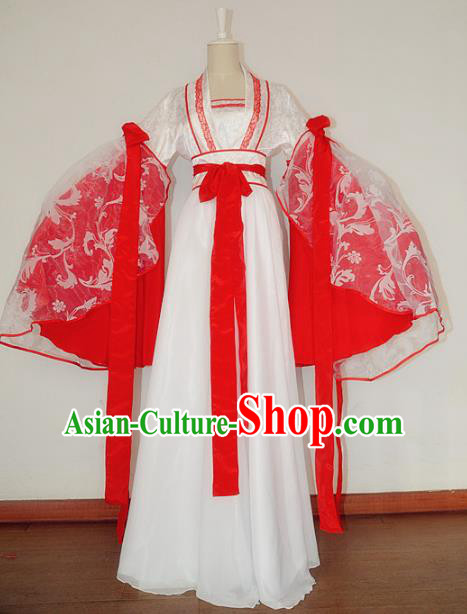 Chinese Ancient Cosplay Princess Costume Tang Dynasty Imperial Consort Hanfu Dress for Women