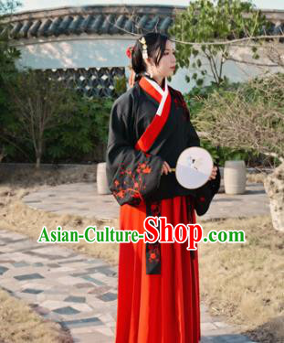 Chinese Traditional Ming Dynasty Nobility Lady Hanfu Dress Ancient Costume for Women