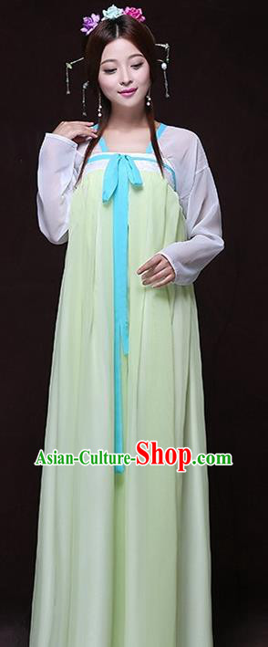 Chinese Ancient Young Lady Hanfu Dress Tang Dynasty Imperial Concubine Costumes for Women