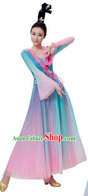 Top Grade Chinese Classical Dance Dress, Compere Stage Performance Choir Costume for Women