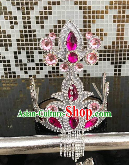 Top Grade Halloween Hair Accessories Brazilian Carnival Samba Dance Headwear for Kids