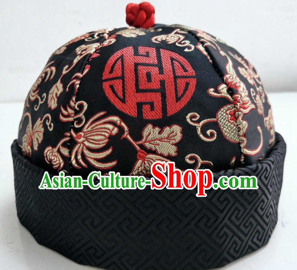 Chinese Traditional Handmade Landlord Hat for Men