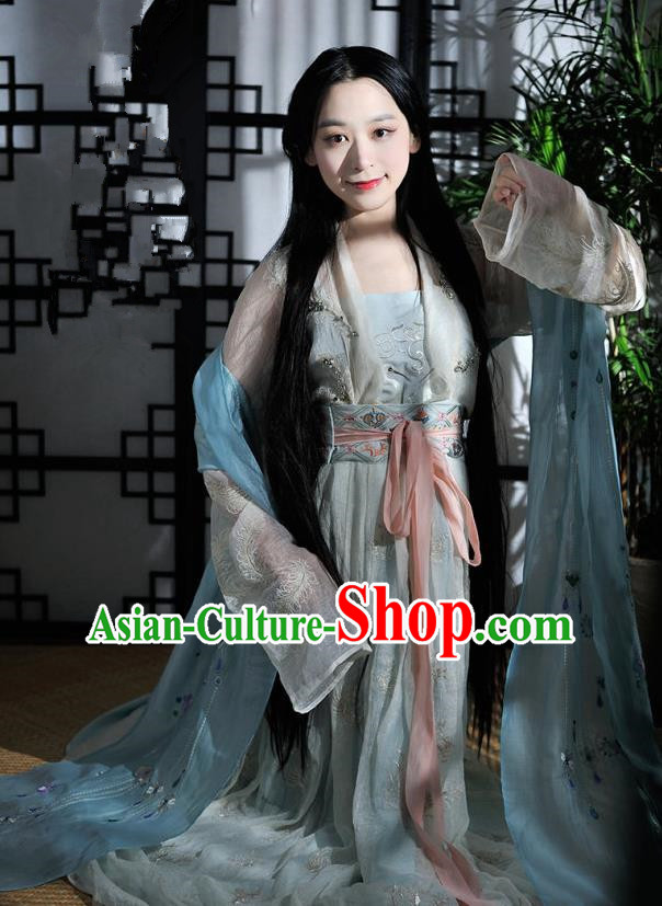 Traditional Chinese Song Dynasty Nobility Lady Costume Ancient Palace Lady Hanfu Dress for Women