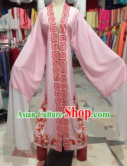 Chinese Beijing Opera Niche Pink Cape Traditional Peking Opera Costume for Adults