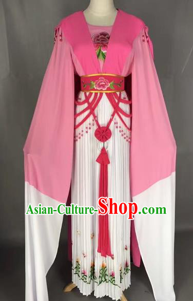 Chinese Shaoxing Opera Princess Embroidered Dress Traditional Beijing Opera Diva Costume for Adults