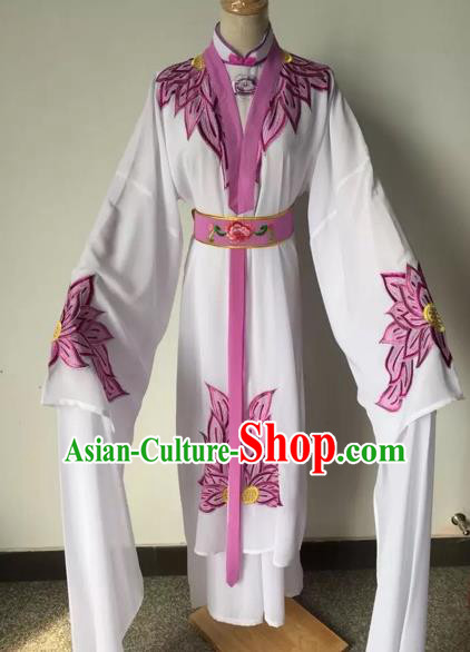 Chinese Beijing Opera Diva Water Sleeve Dress Ancient Maidservants Costume for Adults