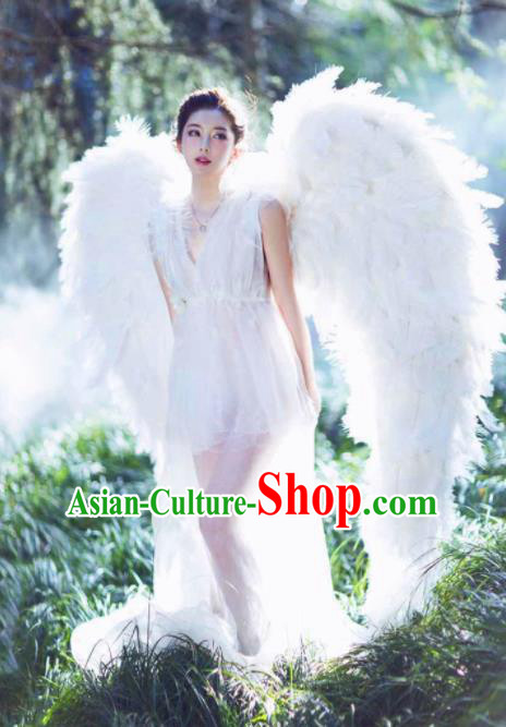 Stage Performance Brazilian Carnival Feather Wings Miami Feathers Deluxe Wings for Women