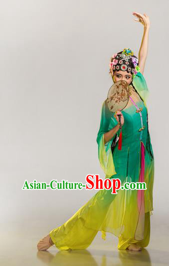 Chinese Traditional Folk Dance Beijing Opera Diva Costume Classical Dance Clothing for Women