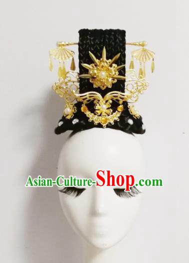 Chinese Traditional Classical Dance Hair Accessories Folk Dance Hairpins Headwear for Women