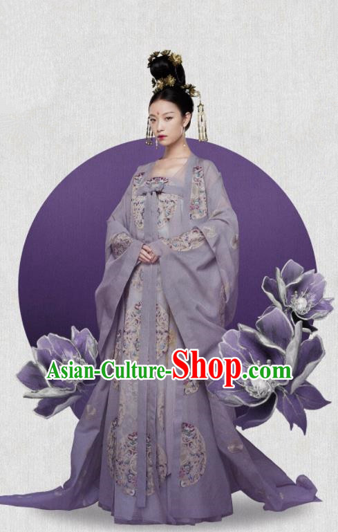 The Rise of Phoenixes Drama Hanfu Dress Chinese Ancient Tang Dynasty Princess Consort Costumes for Women